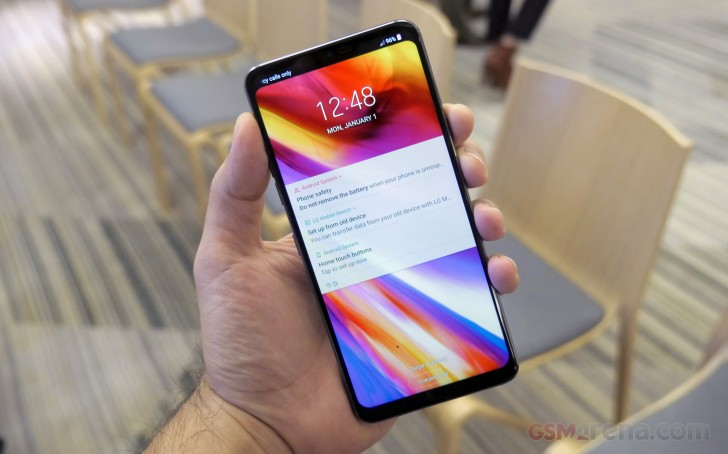 Aurora Black LG G7 ThinQ is now in stock in the UK