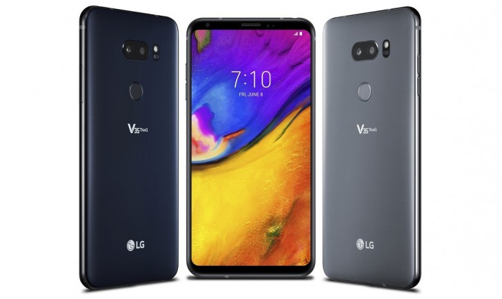LG V35 ThinQ quietly unveiled: a V30S with Snapdragon 845