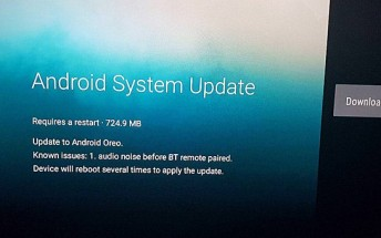 2016 Xiaomi Mi Box updated to Oreo