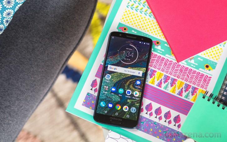 Motorola Moto 1S announced - a G6 version with ZUI - GSMArena com news