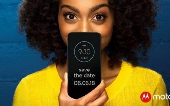 Motorola Moto Z3 Play announcement set for June 6