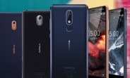 Nokia 5.1 and 3.1 unveiled with tall screens, new chipsets, Nokia 2.1 tags along