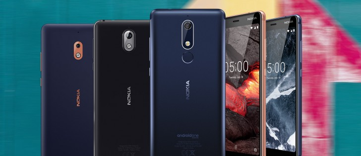 Nokia 5.1, Nokia 3.1, Nokia 2.1 arrive in India