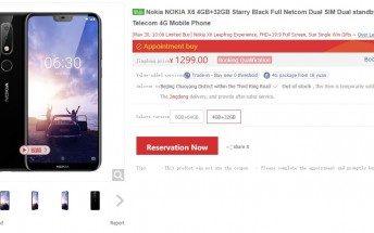 Nokia X6 flash sale ends in seconds, again