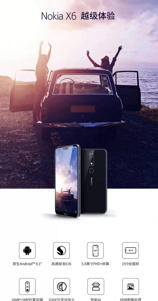 Nokia X6 Full Specifications and Images leaked ahead of its Launching