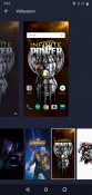 Avengers Edition wallpapers, clock widget and theme
