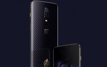 OnePlus 6 Avengers: Infinity War Edition unveiled