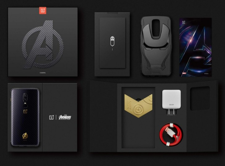 OnePlus 6 Avengers: Infinity War Edition with 8GB of RAM and 256GB internal storage is Official