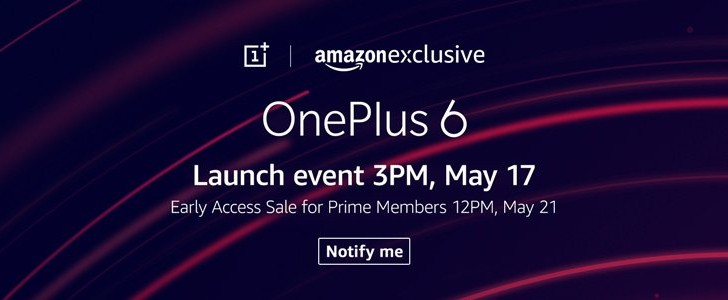 Amazon.in announces Fast AF sale for OnePlus 6: a pre-order with a bonus