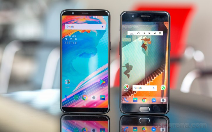 Chinese OnePlus 5 and OnePlus 5T Get Updated To Android 8.1 Oreo
