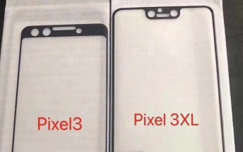 Google Pixel 3 and 3 XL leaked screen protectors reveal stereo speakers, notch
