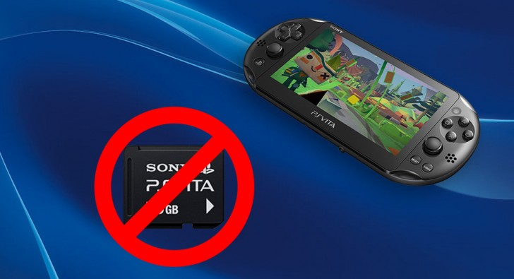 Sony will stop making PS Vita game cards
