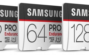 Samsung's new PRO Endurance microSD cards excel in reliability