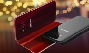 Samsung Galaxy S8 Lite renders leak in Burgundy and Black
