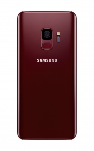 Samsung Galaxy S9 in Burgundy Red
