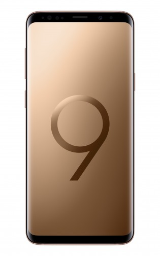 Samsung Galaxy S9+ in Sunrise Gold