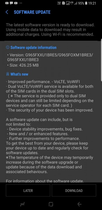Samsung Galaxy S9 gets dual VoLTE support in India
