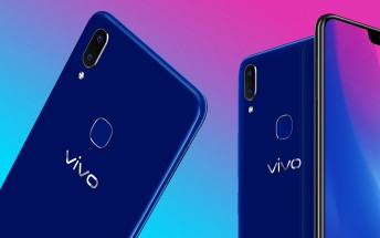 Sapphire Blue vivo V9 goes on sale on May 18