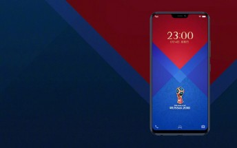vivo launches Blue V9 Limited Edition for the World Cup in Russia