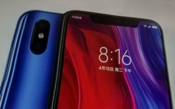 Xiaomi Mi 8 pictured, to come with own Animojis