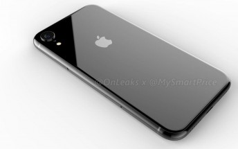 The 6.1-inch Apple iPhone renders leak - notched design and a single camera