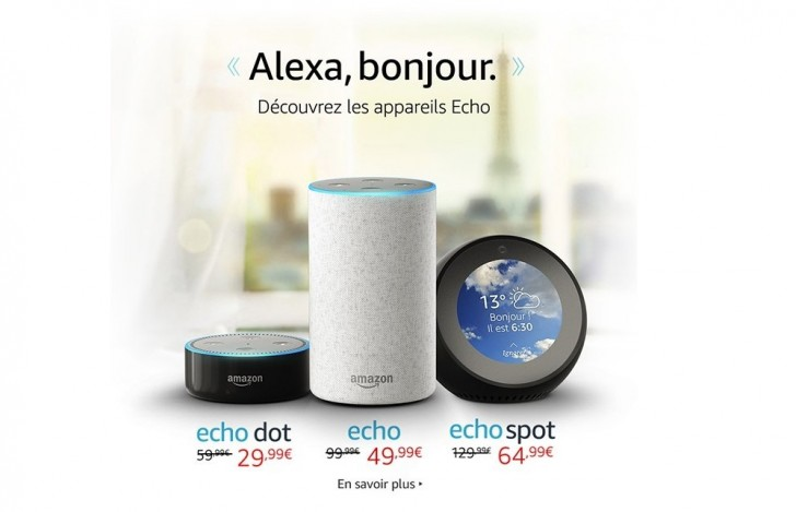 Bienvenue, Alexa: Amazon's digital assistant heads to France