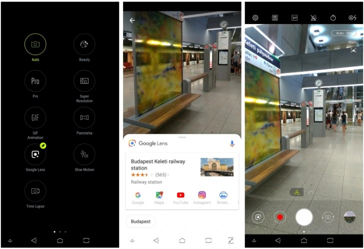 Asus PixelMaster Camera app gets Google Lens functionality