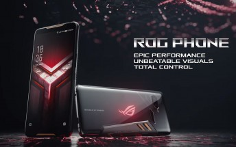 ASUS announces over-the-top ROG Phone with 90Hz display and gaming accessories