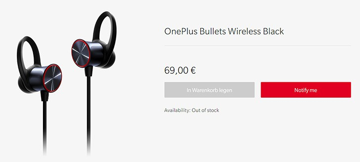 Xiaomi launches Bullets Wireless in Europe, they sell out in 3 minutes