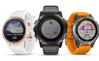Garmin launches fēnix 5 Plus multisport GPS watch