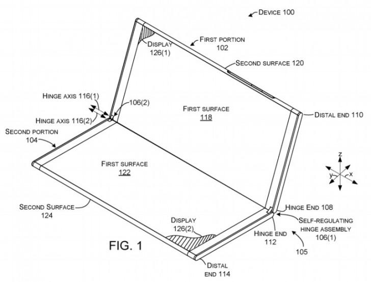 gsmarena 005 - Microsoft Katlanabilir Telefon Üzerinde Çalışıyor