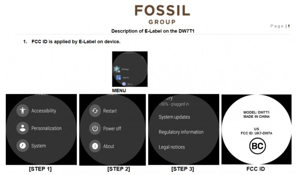 Fossil Reveals Its First Smart Watch