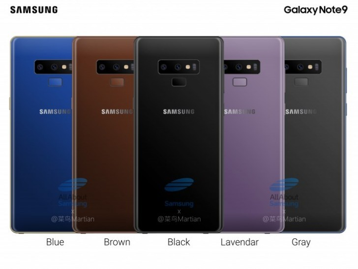 Samsung Galaxy Note9 Specs And Features Revealed In Detailed