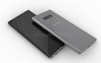 Samsung Galaxy Note9 design leaks through CAD-based renders and video