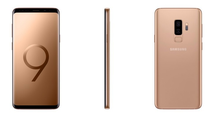 Samsung Galaxy S9+ Sunrise Gold reaches India as a limited edition