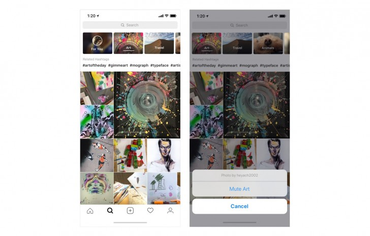 Instagram's redesigned Explore tab is the newest social media time-sucker