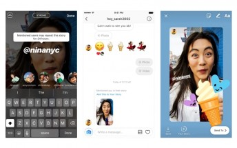 Instagram update lets you share posts that mention you in your own story