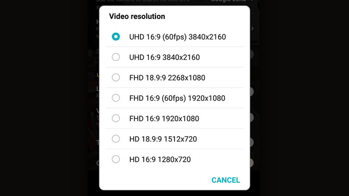Update brings 4K 60fps video recording to LG G7 ThinQ - GSMArena com