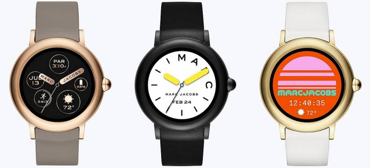 914ecf2727d5 Marc Jacobs releases Riley Touchscreen watch with Android Wear ...
