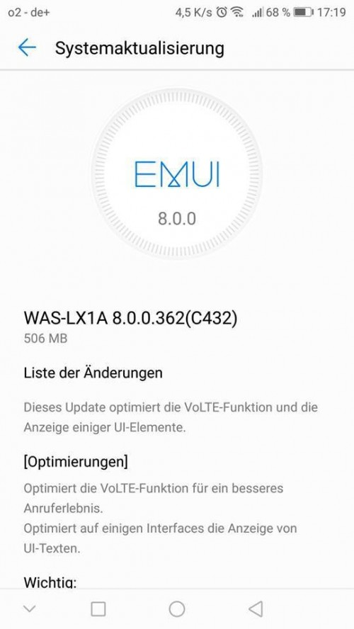 Android 8 0 Oreo rollout begins for the Huawei Mate 10 Lite