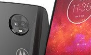 Moto Z3 Play with 6GB/128GB memory configuration and Onyx color outed in Brazil