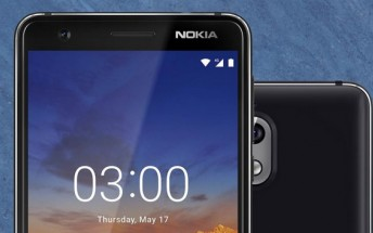 Nokia 3.1 goes on sale in Russia and Jordan