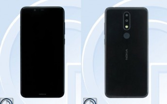 Nokia 5.1 Plus shines in TENAA photos