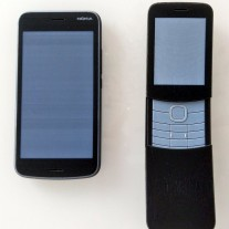 Nokia 1 and Nokia 8110 4G prototypes