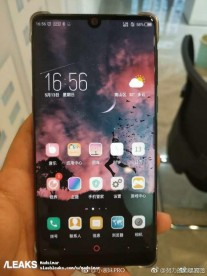 ZTE nubia Z18 poses for a few unofficial photos