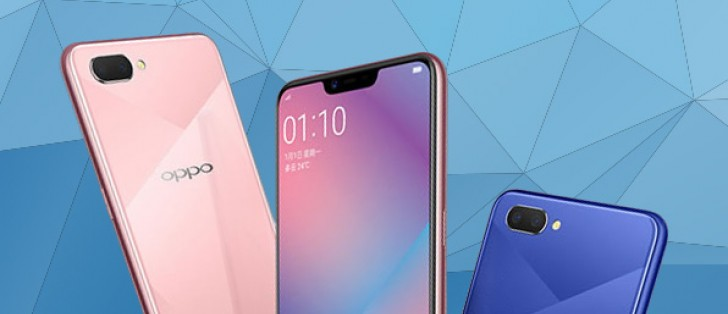 04d0047f9 Oppo A5 leaks  adds a dual camera and a notch to the Realme 1 formula