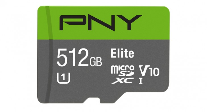 PNY unveils 512 GB microSD, will show it off at Computex