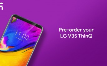LG V35 ThinQ and G7 ThinQ now up for pre-order on Project Fi