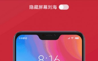 Xiaomi Redmi 6 Pro to have notch-disabling option; more high-quality images leak
