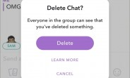 Snapchat now lets you unsend messages